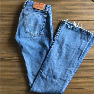 Lucky bell bottom flare jeans